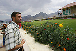 Iraqis from Baghdad, who arrived after taking an overnight bus, tour a new vacation development near the Bekhal waterfalls in Kurdistan. Although international tourism is almost non-existent, Kurdistan is a major destination for Iraqis seeking to escape the violence that has plagued the country follwing the US invasion in 2003...Stability and security prevail in postwar Iraqi Kurdistan as Iraqi tourists, many of them from Baghdad, flock to the northern cities and their amusement parks and national parks to escape violence and sectarian strife in the central and southern regions of the country.