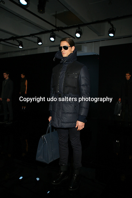 Mercedes-Benz New York Fashion Week Autumn/Winter 2013 - Porsche Design Presentation Held at Center 548, NY   2/9/13