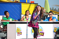 Contestants compete in Kidz Star USA 2012 Talent Show at Pacific Park on Tuesday, May 15, 2012..Kidz Star USA is Americas biggest talent competition for kids 15 and under. Americas biggest national talent competition for kids ages 15 and under. This year, 45,000 kids from across the country entered the competition and there were over two million fan votes to help determine the winner. They compete for the prize of a lifetimea recording contract with RCA Records and starring role in the next Kidz Bop TV commercial!  KIDZ Star USA is hosted on KIDZBOP.com, the leading safe social network and video sharing site for kids and tweens. .