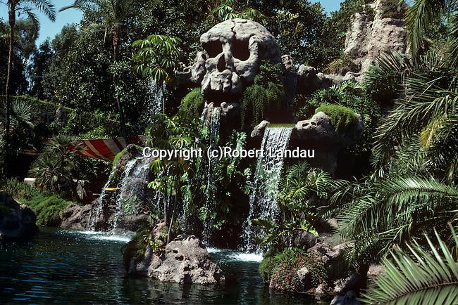 Tom Sawyer's Island, Disneyland, 1982