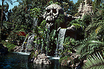 Skull rock on Tom Sawyer's Island at Disneyland in Anaheim, CA