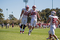 Stanford Football Spring Practice, March 12, 2017