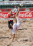 XVII Open Valencia de Futvoley.<br /> Semifinales y Final.<br /> Playa de Las Arenas - Valencia (Espa&ntilde;a).<br /> 21 de julio de 2013.