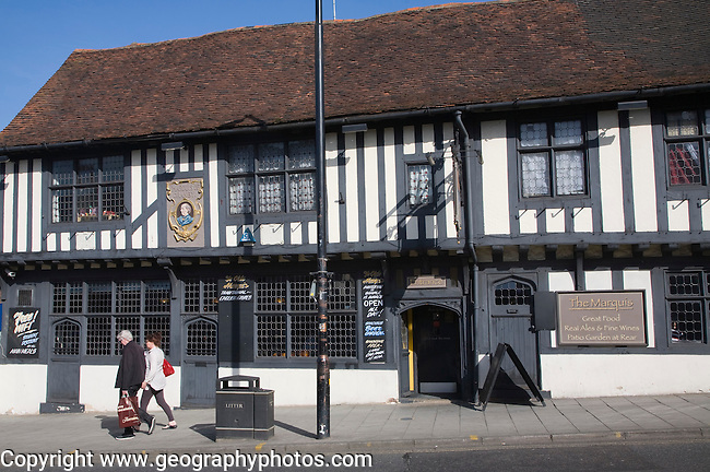 Ye Olde Marquis of Granby pub, North Hill, Colchester, Essex, England
