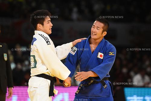 Hiroyuki Akimoto (JPN), <br /> DECEMBER 5, 2015 - Judo : <br /> IJF Grand Slam Tokyo 2015 International Judo Tournament <br /> Men's -73kg <br /> at Tokyo Metropolitan Gymnasium, Tokyo, Japan. <br /> (Photo by AFLO SPORT)