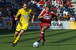 Brandon Prideaux, Chicago Fire and Eddie Gaven, Columbus Crew