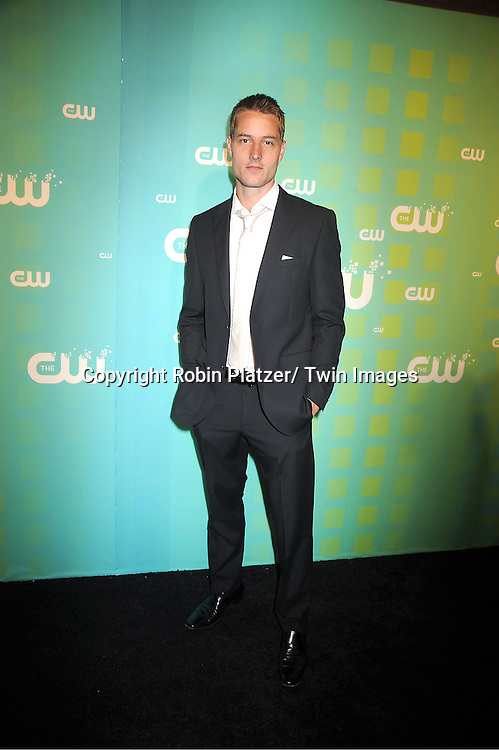 Justin Hartley attends The CW Network's 2012 Upfront Presentation on May 17, 2012 at New York City Center in New York.