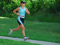 Triathlon - Run (Women Athletes) - Badger State Games '08