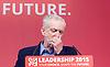 Labour Leadership <br /> Conference <br /> at The QE Conference Centre, Westminster, London, Great Britain <br /> 12th September 2015 <br /> <br /> Jeremy Corbyn <br /> <br /> Labour leader <br /> <br /> Photograph by Elliott Franks <br /> Image licensed to Elliott Franks Photography Services