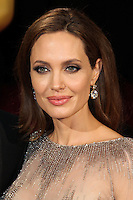 HOLLYWOOD, CA, USA - MARCH 02: Angelina Jolie at the 86th Annual Academy Awards held at Dolby Theatre on March 2, 2014 in Hollywood, Los Angeles, California, United States. (Photo by Xavier Collin/Celebrity Monitor)