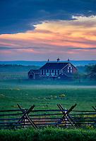 The Codori Farm, Gettysburg National Military Park, Pennsylvania, USA