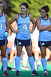 23 September 2016: North Carolina's Leila Evans. The University of North Carolina Tar Heels hosted the Syracuse University Orange at Francis E. Henry Stadium in Chapel Hill, North Carolina in a 2016 NCAA Division I Field Hockey match. UNC won the game 3-2 in two overtimes.