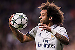 Marcelo Vieira Da Silva of Real Madrid in action during the 2016-17 UEFA Champions League match between Real Madrid and Borussia Dortmund at the Santiago Bernabeu Stadium on 07 December 2016 in Madrid, Spain. Photo by Diego Gonzalez Souto / Power Sport Images