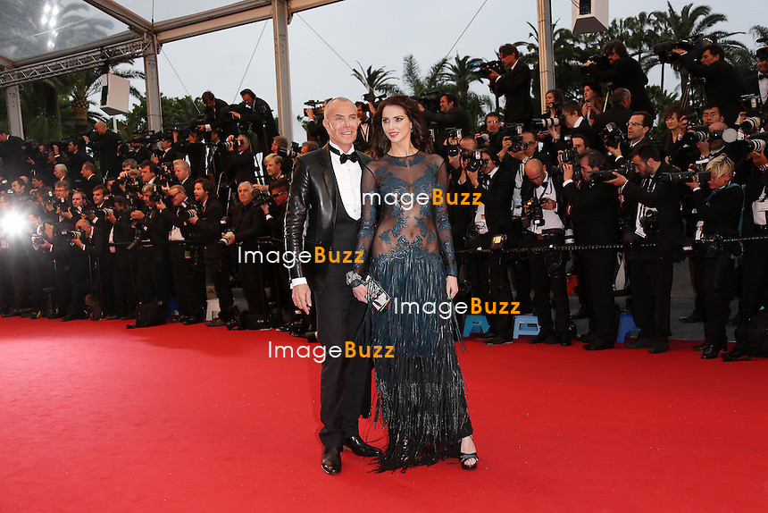 CPE/Frederique Bel & Jean-Claude Jitrois attends the Opening Ceremony and 'The Great Gatsby' Premiere during the 66th Annual Cannes Film Festival at the Theatre Lumiere on May 15, 2013 in Cannes, France.