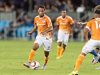 SAN JOSE, CA - July 10, 2015: The San Jose Earthquakes vs Houston Dynamo match at Avaya Stadium in San Jose, CA. Final score SJ Earthquakes 0, Houston Dynamo 2.