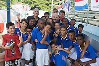 Havana, Cuba - October 7, 2016: The U.S. Men's National team defeat Cuba 2-0 in an international friendly game at Estadio Pedro Marrero.