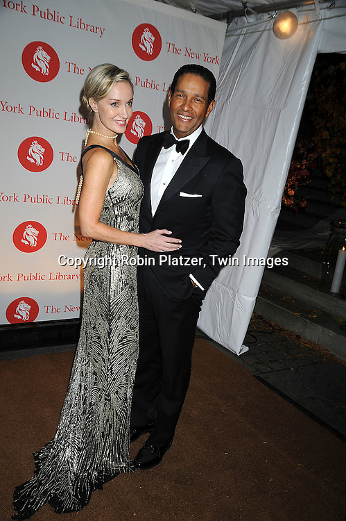 Hilary Gumbel and Bryant Gumbel..arriving at The New York Public Library 2008 Library Lions Benefit Gala on November 3, 2008 at The New York Public Library at 42nd Street and 5th Avenue.....Robin Platzer, Twin Images