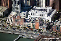 aerial photograph One Rincon Plaza Embarcadero waterfront San Francisco California