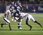 Ole Miss' Jesse Grandy (10) at Vaught-Hemingway Stadium on Saturday, November 27, 2010. Mississippi State won 31-23.