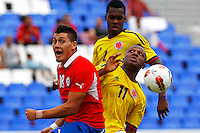 Colombia v.s. Chile 30-01-2013