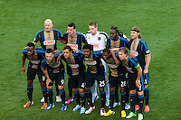 Philadelphia Union starting XI. Toronto FC and the Philadelphia Union played to a 1-1 tie during a Major League Soccer (MLS) match at PPL Park in Chester, PA, on April13, 2013.