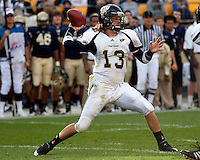 FIU quarterback Wesley Carroll. The Pittsburgh Panthers defeated Florida International Golden Panthers 44-17 at Heinz Field, Pittsburgh Pennsylvania on October 2, 2010.