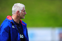Bath Director of Rugby Todd Blackadder looks on during the pre-match warm-up. Pre-season friendly match, between the Scarlets and Bath Rugby on August 20, 2016 at Eirias Park in Colwyn Bay, Wales. Photo by: Patrick Khachfe / Onside Images