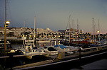 Harbour at Puerto Colon at night ,Tenerife, Canary Islands, Spain