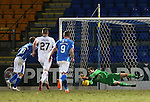 St Johnstone v Inverness Caley Thistle&hellip;09.03.16  SPFL McDiarmid Park, Perth<br />Owain Fon-Willimas saves David Wotherspoon&rsquo;s penalty<br />Picture by Graeme Hart.<br />Copyright Perthshire Picture Agency<br />Tel: 01738 623350  Mobile: 07990 594431