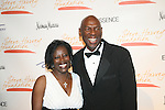 Yvonne Grant and Geoffrey Canada attend the 1ST Annual Steve Harvey Foundation Gala honoring Academy Award Winner Denzel Washington, Harlem Children's Zone President & CEO Geoffrey Canada and State Farm Marketing Vice President Pam El , Cipriani Wall Street