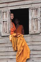 Sur le Mékong, à mi chemin entre la frontière Thaïlandaise et Luang Prabang au Laos.