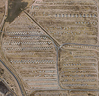 aerial photo map military aircraft boneyard Davis Monthan Air Force Base, Tuscon, Arizona