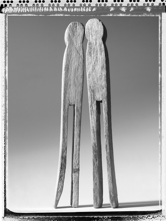 Untitled Effigy Number Five, 2004 (Pegs).