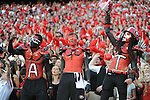 Georgia student section Ole Miss vs. Georgia at Sanford Stadium in Athens, Ga. on Saturday, November 3, 2012. Georgia won 37-10.