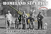 You can rest well tonight, Yooper Homeland Security  is on duty, keeping away the bad guys. Their motto: We Never Sleep.