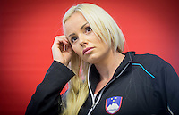 20150128: SLO, Tennis - Press conference of Slovenian Women team before Fed Cup in Tallinn