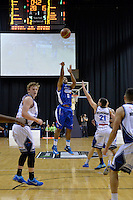 Dion Prewster in action during the NBL Final Four - Saints v Giants at TSB Bank Arena, Wellington, New Zealand on Friday 4 July 2014. <br /> Photo by Masanori Udagawa. <br /> www.photowellington.photoshelter.com.