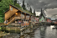 Ketchikan, Alaska by Peter Wochniak