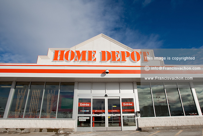 Home deport store stock photos by francis vachon American home builder