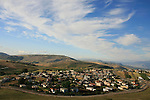 Circassian village Rehaniya in the Upper Galilee