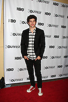 "LOS ANGELES - JUL 22:  Carter Jenkins arrives agt the 2012 Outfest Closing Night Gala of ""STRUCK BY LIGHTNING"" at J.A. Ford Amphitheatre on July 22, 2012 in Los Angeles, CA"