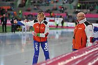 SCHAATSEN: HAMAR: Vikingskipet, 12-01-2014, Essent ISU European Championship Allround, Marianne Timmer (trainer/coach Team LiGA), ©foto Martin de Jong
