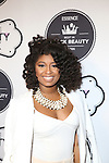 Curls and Couture's Courtney Danielle attends the 2016 ESSENCE Best in Black Beauty Awards Carnival