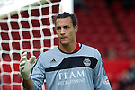 Aberdeen v St Johnstone... 23.07.11   SPL Week 1.Dons keeper David Gonzalez.Picture by Graeme Hart..Copyright Perthshire Picture Agency.Tel: 01738 623350  Mobile: 07990 594431