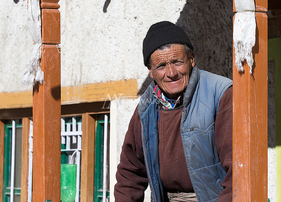 My host for a one night home stay in Hemis National Park smiles as I leave.  I guess he was happy to see me go!