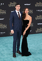 """HOLLYWOOD, CA - May 18: Benjamin Walker, Kaya Scodelario, At Premiere Of Disney's """"Pirates Of The Caribbean: Dead Men Tell No Tales"""" At Dolby Theatre In California on May 18, 2017. Credit: FS/MediaPunch"""