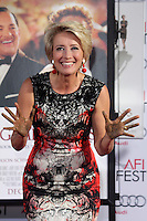 Emma Thompson Hand and Footprint Ceremony