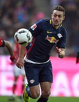 Fussball  1. Bundesliga  Saison 2016/2017  16. Spieltag  FC Bayern Muenchen - RB Leipzig        21.12.2016 Stefan Ilsanker (RB Leipzig)