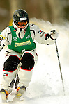 15 January 2005 - Lake Placid, New York, USA - Laurel Shanley representing the USA, competes in the FIS World Cup Ladies' Moguls Freestyle ski competition, ranking 4th for the day, at Whiteface Mountain, Lake Placid, NY. ..Mandatory Credit: Ed Wolfstein Photo.