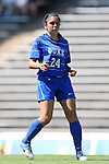 30 August 2013: Duke's Mollie Pathman. The Duke University Blue Devils played the Kennesaw State University Owls at Fetzer Field in Chapel Hill, NC in a 2013 NCAA Division I Women's Soccer match. Duke won 1-0.